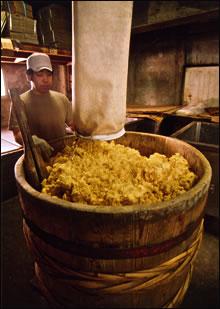 伝統製造工程 桶