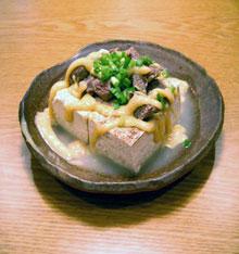 スジ肉豆腐