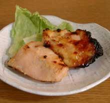 鶏むね肉の味噌漬け